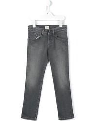 Детские темно-серые джинсы для мальчику от Armani Junior