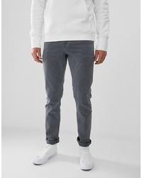 Мужские темно-серые джинсы от ASOS DESIGN