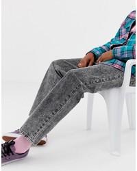 Мужские темно-серые джинсы от Collusion