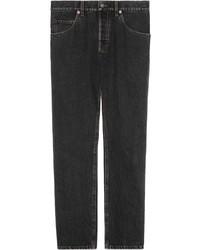 Мужские темно-серые джинсы от Gucci