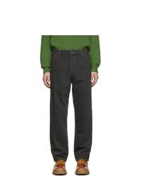 Мужские темно-серые джинсы от Jacquemus