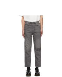 Мужские темно-серые джинсы от Ksubi