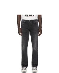 Мужские темно-серые джинсы от Nudie Jeans