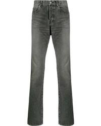 Мужские темно-серые джинсы от Saint Laurent