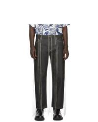 Мужские темно-серые джинсы от Valentino