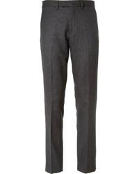Мужские темно-серые классические брюки в шотландскую клетку от J.Crew