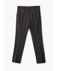 Мужские темно-серые классические брюки от BAWER
