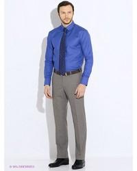 Мужские темно-серые классические брюки от btc