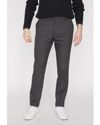 Мужские темно-серые классические брюки от Koton