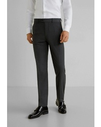 Мужские темно-серые классические брюки от Mango Man