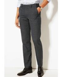 Мужские темно-серые классические брюки от Marks & Spencer