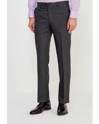 Мужские темно-серые классические брюки от STENSER