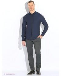 Мужские темно-серые классические брюки от United Colors of Benetton