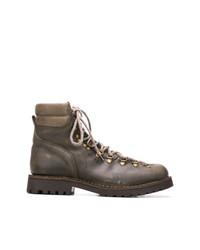 Мужские темно-серые кожаные повседневные ботинки от Astorflex