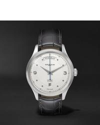 Мужские темно-серые кожаные часы от Montblanc