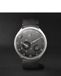 Мужские темно-серые кожаные часы от Ressence