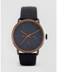 Мужские темно-серые кожаные часы от Ted Baker