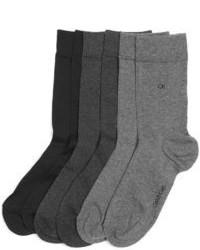 Женские темно-серые носки от Calvin Klein