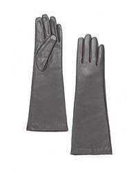 Женские темно-серые перчатки от Eleganzza