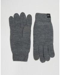 Мужские темно-серые перчатки от Jack and Jones