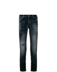 Мужские темно-серые рваные джинсы от Dondup