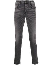 Мужские темно-серые рваные джинсы от PRPS
