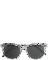 Женские темно-серые солнцезащитные очки с принтом от Victoria Beckham