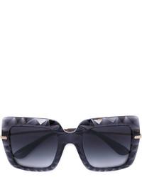 Женские темно-серые солнцезащитные очки