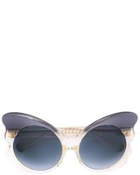 Женские темно-серые солнцезащитные очки от Matthew Williamson