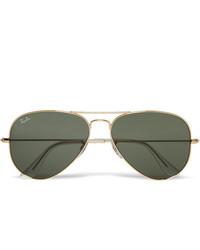 Мужские темно-серые солнцезащитные очки от Ray-Ban