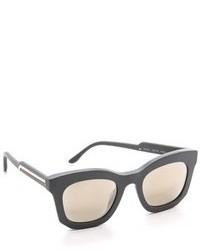 Женские темно-серые солнцезащитные очки от Stella McCartney