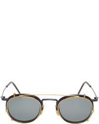 Женские темно-серые солнцезащитные очки от Thom Browne