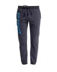 Мужские темно-серые спортивные штаны с принтом от Atributika & Club™