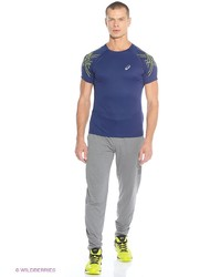 Мужские темно-серые спортивные штаны от Asics