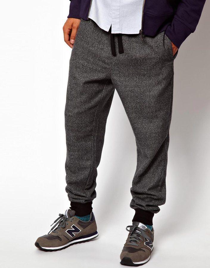 87dad40014db Мужские темно-серые спортивные штаны от Asos   Где купить и с чем носить