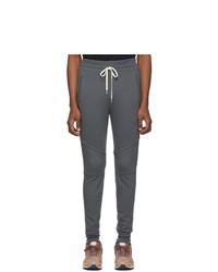 Мужские темно-серые спортивные штаны от John Elliott