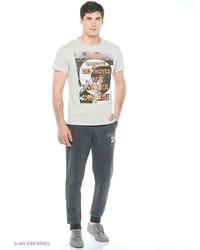 Мужские темно-серые спортивные штаны от Mark Formelle