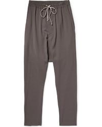 Мужские темно-серые спортивные штаны от Rick Owens