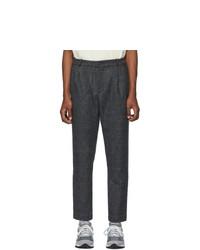 Темно-серые шерстяные брюки чинос от Aimé Leon Dore