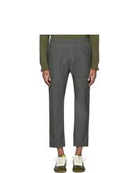 Темно-серые шерстяные брюки чинос от Barena