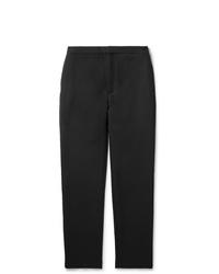 Темно-серые шерстяные брюки чинос от Camoshita