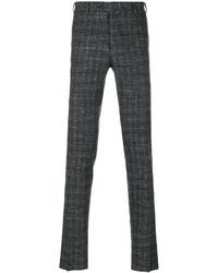Темно-серые шерстяные брюки чинос от Canali