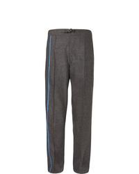 Темно-серые шерстяные брюки чинос от Dunhill