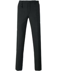 Темно-серые шерстяные брюки чинос от Incotex