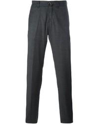 Темно-серые шерстяные брюки чинос от Lardini