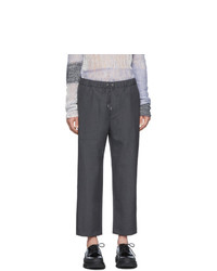 Темно-серые шерстяные брюки чинос от Oamc