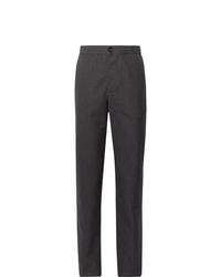 Темно-серые шерстяные брюки чинос от Oliver Spencer