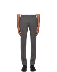 Темно-серые шерстяные брюки чинос от Ps By Paul Smith