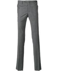 Темно-серые шерстяные брюки чинос от Pt01