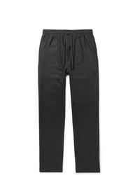 Темно-серые шерстяные брюки чинос от YMC